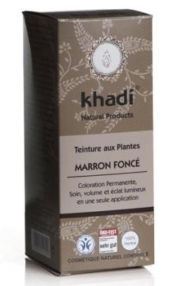 khadi marron foncé